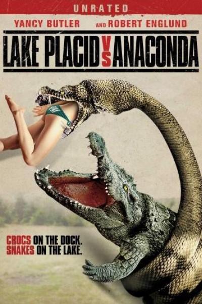 Caratula, cartel, poster o portada de Mandíbulas contra Anaconda