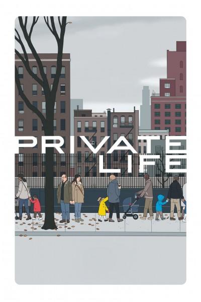 Caratula, cartel, poster o portada de Vida privada