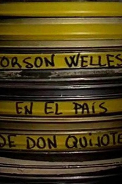 Caratula, cartel, poster o portada de Orson Welles en el país de Don Quijote