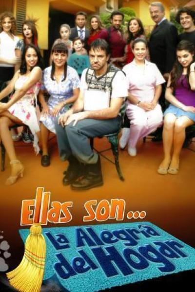 Caratula, cartel, poster o portada de Ellas son... la alegría del hogar