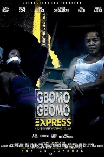 Caratula, cartel, poster o portada de Gbomo Gbomo Express