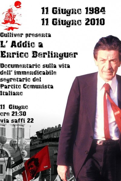 Caratula, cartel, poster o portada de L\'addio a Enrico Berlinguer