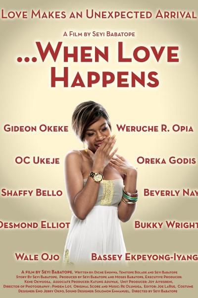 Caratula, cartel, poster o portada de When Love Happens