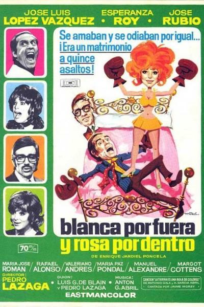 Caratula, cartel, poster o portada de Blanca por fuera y Rosa por dentro