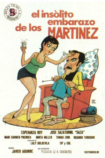 Caratula, cartel, poster o portada de El insólito embarazo de los Martínez