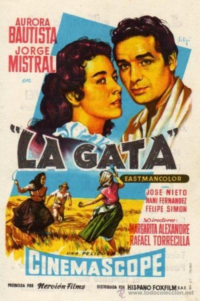 Caratula, cartel, poster o portada de La gata