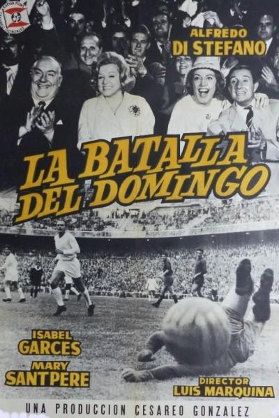 Caratula, cartel, poster o portada de La batalla del domingo