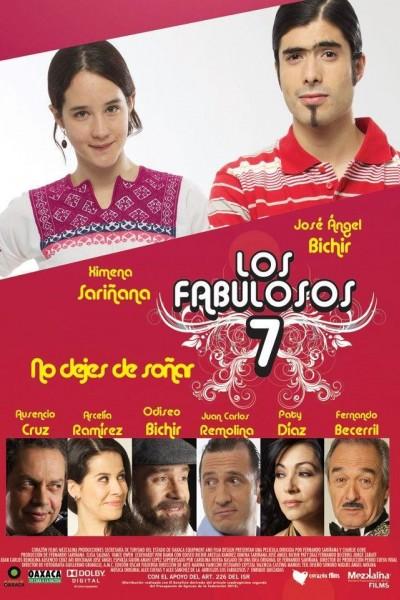Caratula, cartel, poster o portada de Los Fabulosos 7