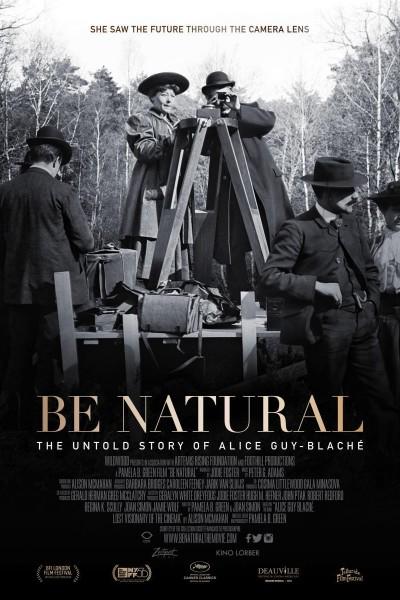 Caratula, cartel, poster o portada de Sé natural: la historia no explicada de Alice Guy-Blaché