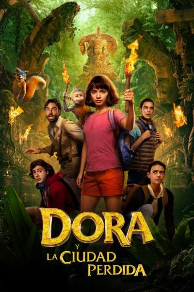Caratula, cartel, poster o portada de Dora y la ciudad perdida
