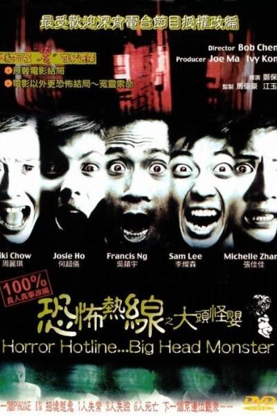 Caratula, cartel, poster o portada de Horror Hotline... Big Head Monster