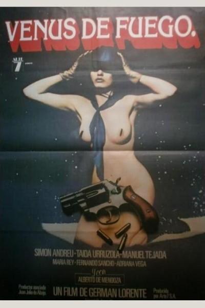 Caratula, cartel, poster o portada de Venus de fuego