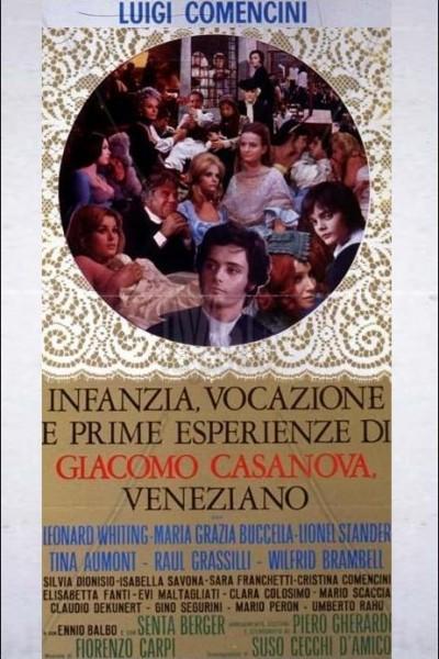 Caratula, cartel, poster o portada de Infancia, vocación y primeras experiencias de Giacomo Casanova, veneciano