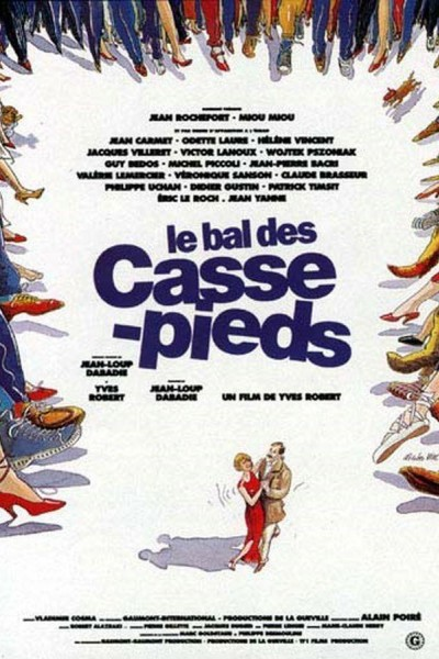 Caratula, cartel, poster o portada de Le bal des casse-pieds