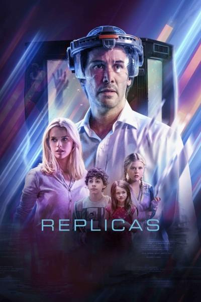 Caratula, cartel, poster o portada de Replicas